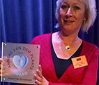 Ananz en Het Momentum winnen Anneke van der Plaats Award
