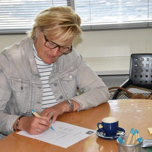 Bestuurslid Het Momentum Sylvia Eickholt