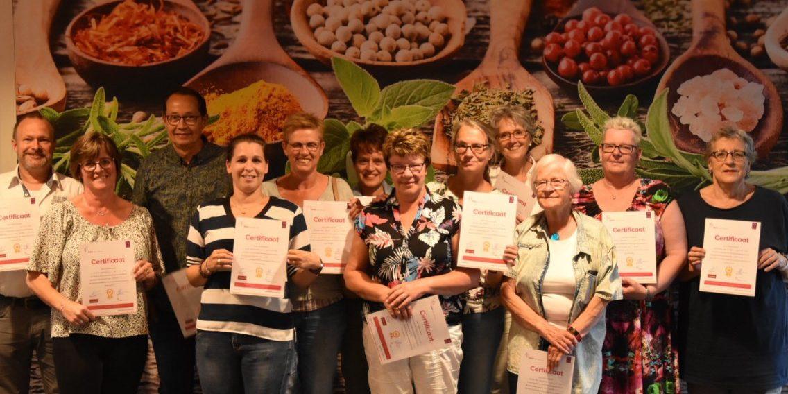 Groep 3 vrijwilligers Het Momentum